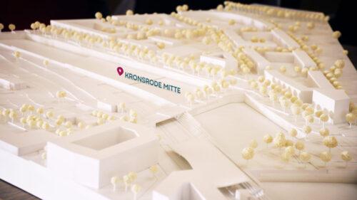 Erster Architekturwettbewerb Kronsrode Mitte entschieden